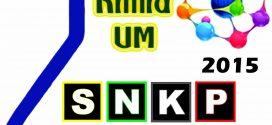 Prosiding Seminar Nasional Kimia dan Pembelajarannya (SNKP) 2015