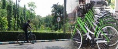 Sepeda Pancal Mudahkan Operasional Saat Car Free Day