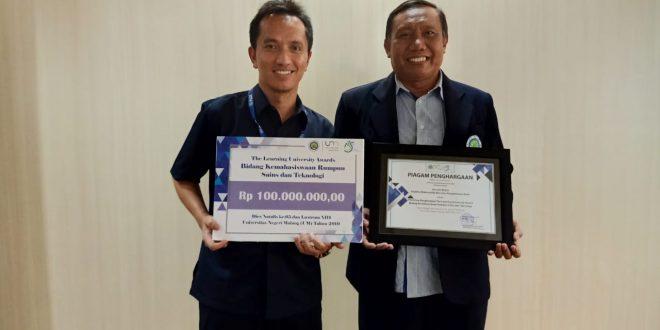 Jurusan Kimia meraih The Learning University Awards 2019