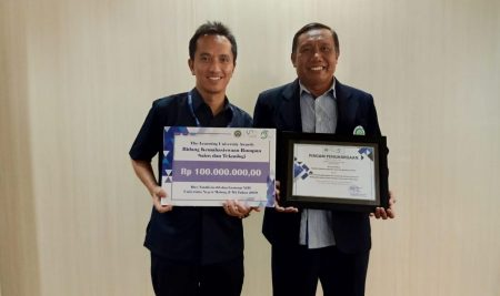 Jurusan Kimia meraih The Learning University Awards 2019