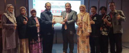 Dr. Muntholib menjadi invited speaker ICES 2019 Johor Bahru Malaysia