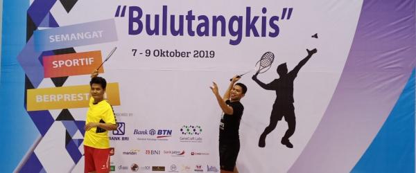 Habiddin, Ph.D & Dr. Susiwo Menang Mudah dalam Kompetisi Bulutangkis UM CUP 2019