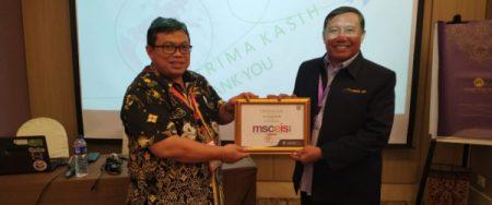 Kiprah Dr. Sumari, M.Si di MSCEIS 2019