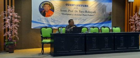 Guest Lecture with Assoc. Prof. Dr. Yaya Rukayadi