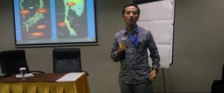 "Pemaparan ""Marine geochemical explorations of sediment""dalam IC2MS"