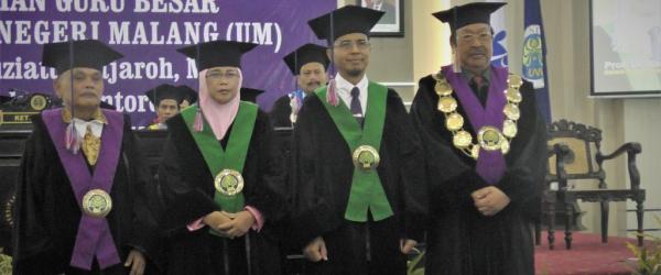 Profesor Baru di Jurusan Kimia Universitas Negeri Malang