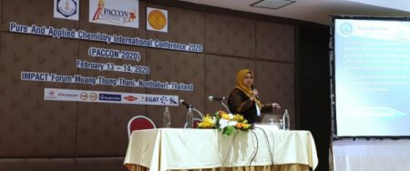 "Prof Sri Rahayu Ph.D : ""The Pure and Applied Chemistry International Conference 2020 (PACCON 2020)"""