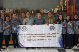 Studi Banding Universitas Kristen Indonesia ke Jurusan Kimia Universitas Negeri Malang