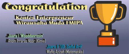 Congratulation Kimiawan Muda